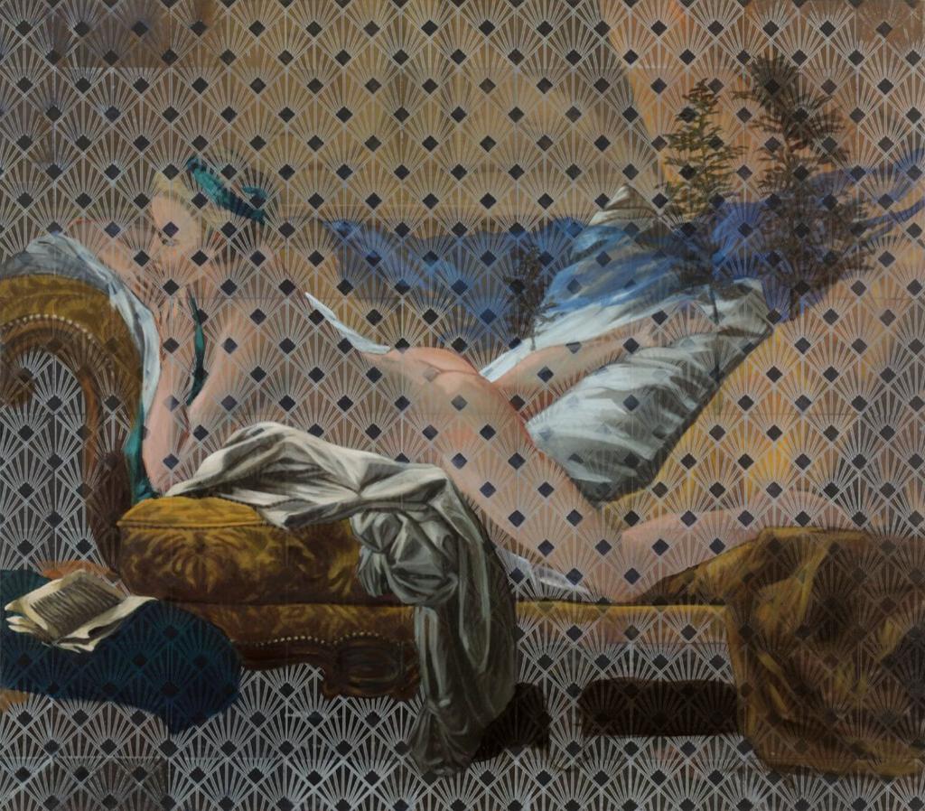 Odalisque #1, La mémoire de la peinture