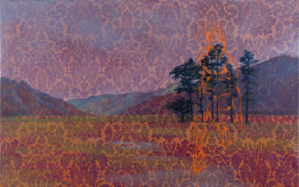 Paysage #3, La mémoire de la peinture