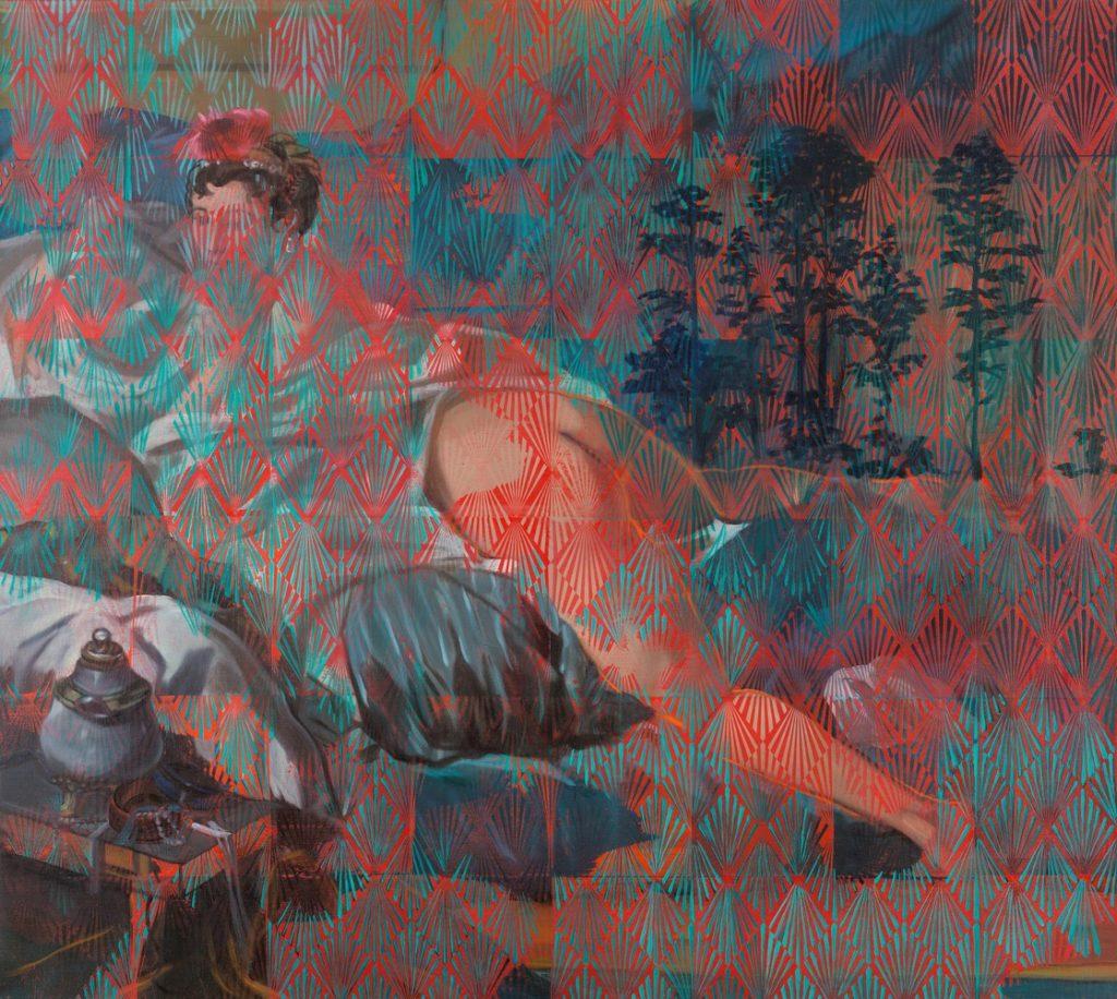 Odalisque #3, La mémoire de la peinture