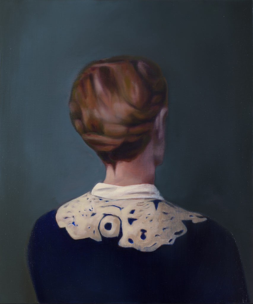 Portrait de dos