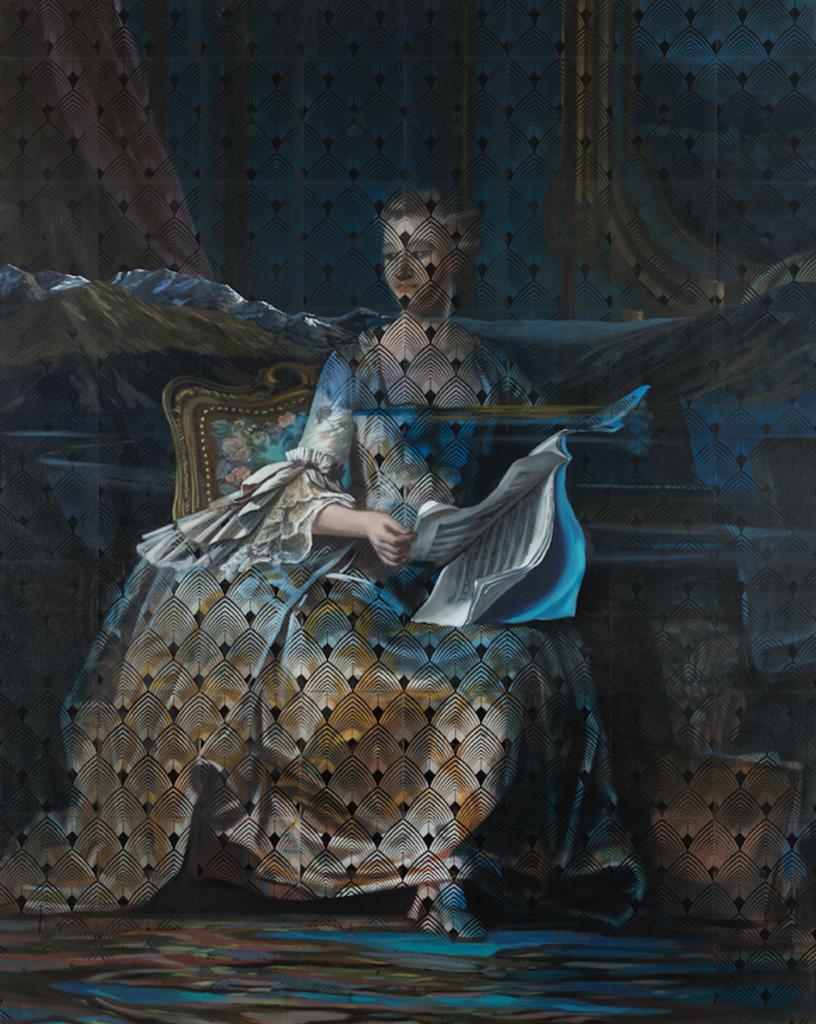 La Pompadour, La mémoire de la peinture