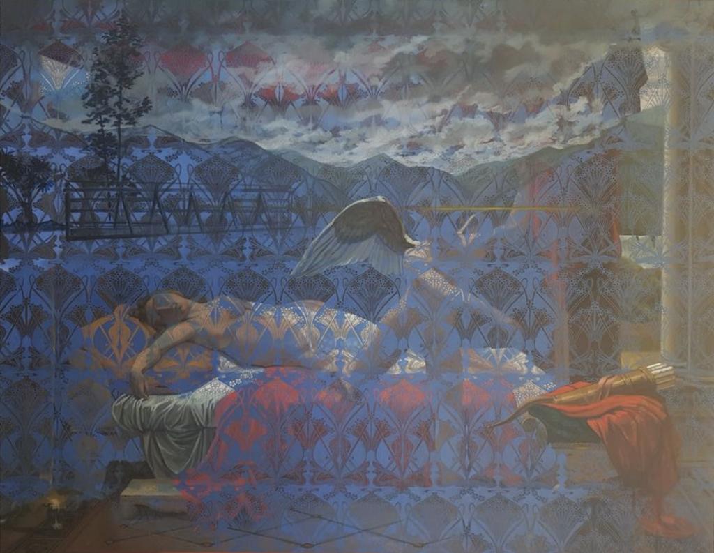 Amour et psyché, La mémoire de la peinture