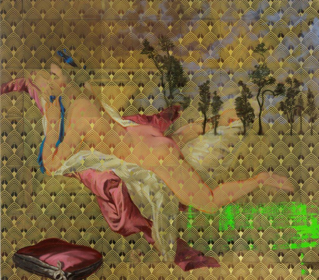 Odalisque #2, La mémoire de la peinture