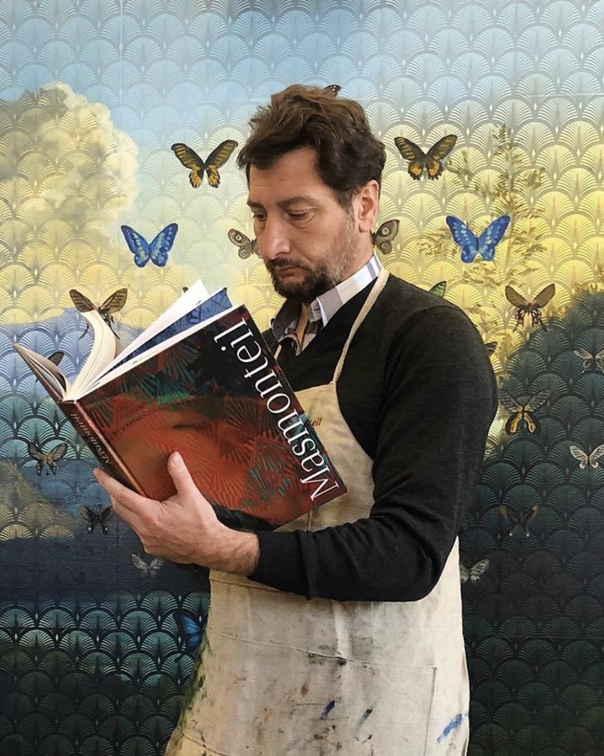 Olivier Masmonteil livre monographie art peintre photo portrait